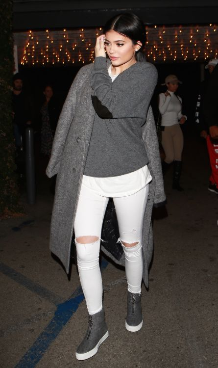 Kylie Jenner winter fashion