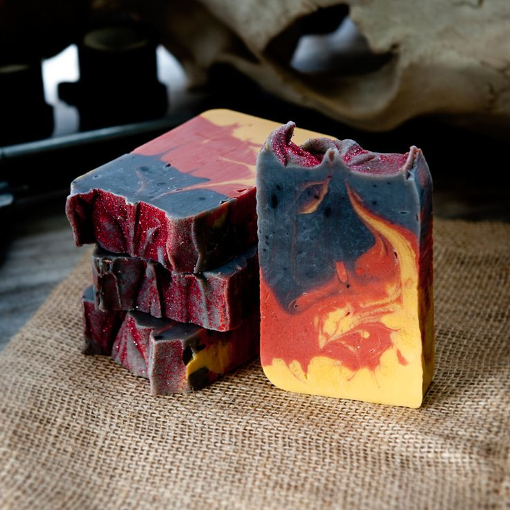 Handmade Fire in the Hole Explosively Awesome Campfire Soap