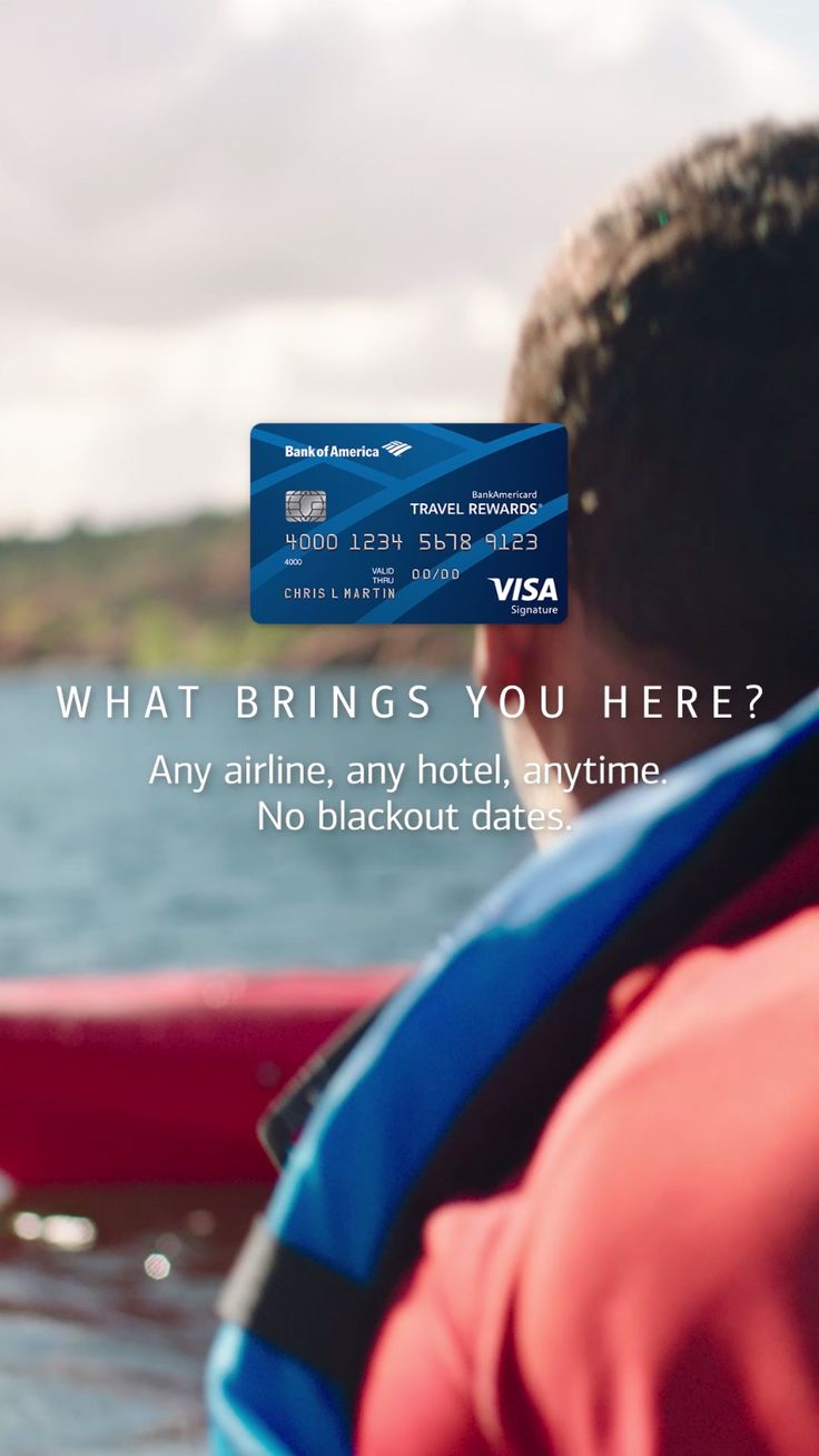 Plan the trip of a lifetime. Use the Travel Rewards credit card to book your adventure how and where you want. Any airline, any hotel, anytime. No blackout dates. Learn more