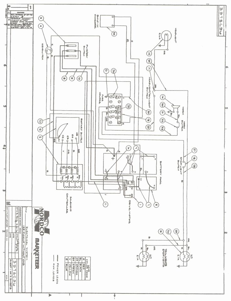 New Wiring Diagram for Club Car Starter Generator #diagram
