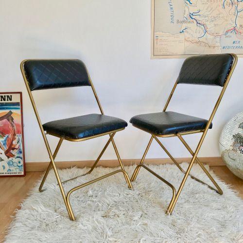 Chaises Pliantes Lafuma Meuble B Co En 2019 Chaise Mobilier De Salon Et Decoration Vintage