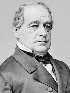Neck beard! Lincoln's first Vice President, Hannibal Hamlin, photo portrait seated, c1860-65.