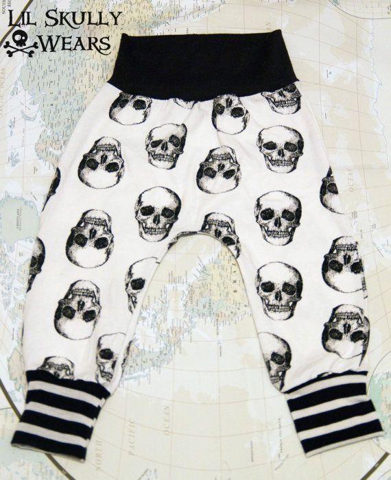 Baby/Kids Pirate Skull Harem Pants