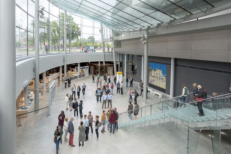Download the floor plan to help you plan your route in the museum. Available in English, Dutch,  French, German, Portuguese, Italian, Spanish, Russian, Japanese and Chinese. Van Gogh Museum