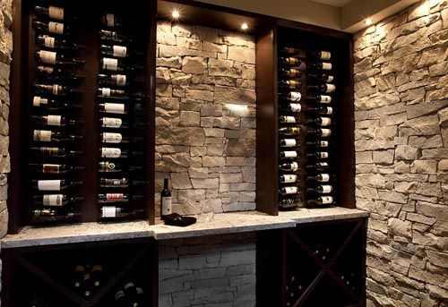 47 best images about track or recessed lighting on for Wine cellar lighting ideas