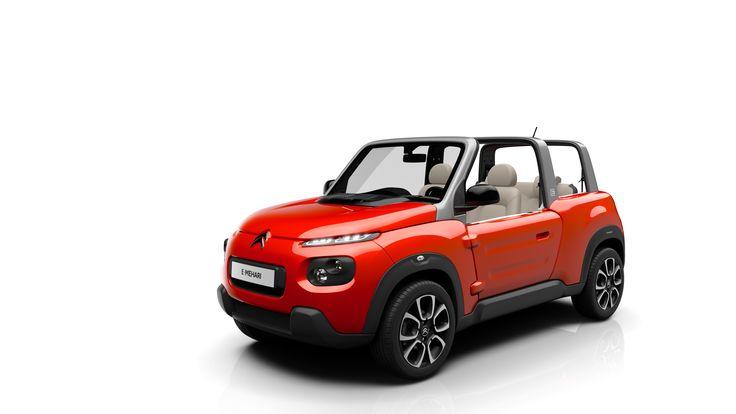 Citroën e-Mehari, 100% electric car - Spring 2016