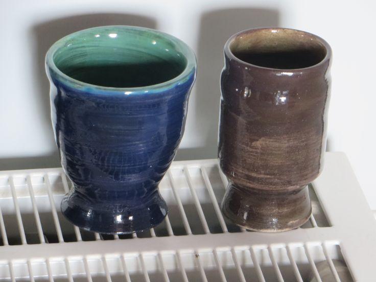 ποτηράκια με μεταλλικά χρώματα (τροχός)