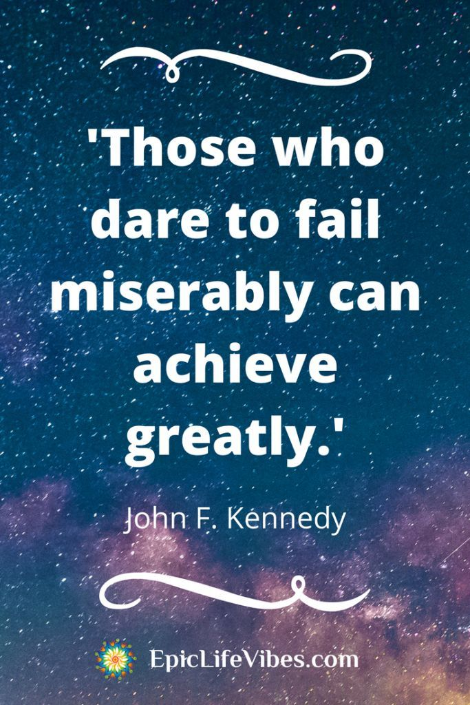 Amazing inspirational thoughts on success from the epic life of John F. Kennedy.  Motivation | Personal Growth | Courage | Self-Belief | Excellence | Transcendence | Service to Others