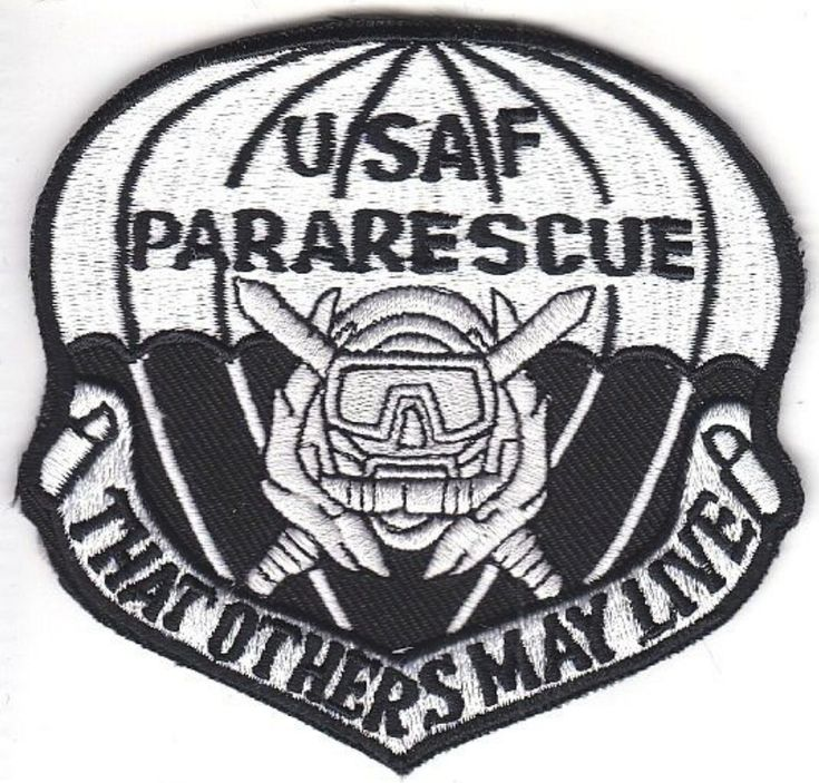 Pararescue Jumper PJ US Air Force USAF SCUBA Diver