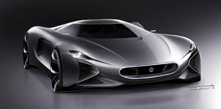 Concept Art: Jaguar C-X83