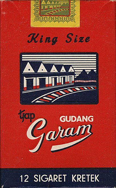 GUDANG GARAM King Size tjap 12 Sigaret Kretek