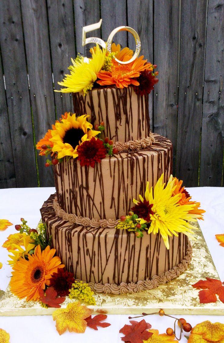 Fall Wedding Cakes | Leslie's Cake Blog from Stan's Northfield Bakery: Fall Wedding Cake