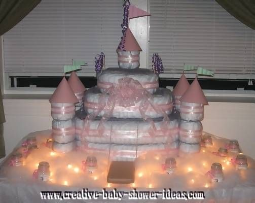 How To Make A Princess Carriage Diaper Cake