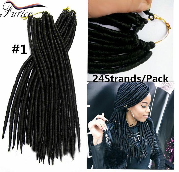 Crochet faux locs crochet black hair Janet Collection Mambo Twist