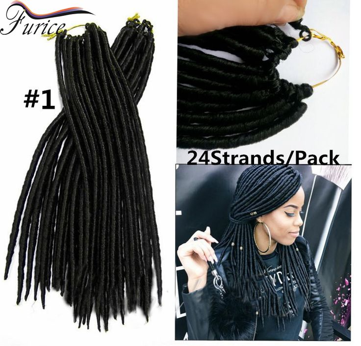 Crochet faux locs crochet black hair Janet Collection Mambo Twist