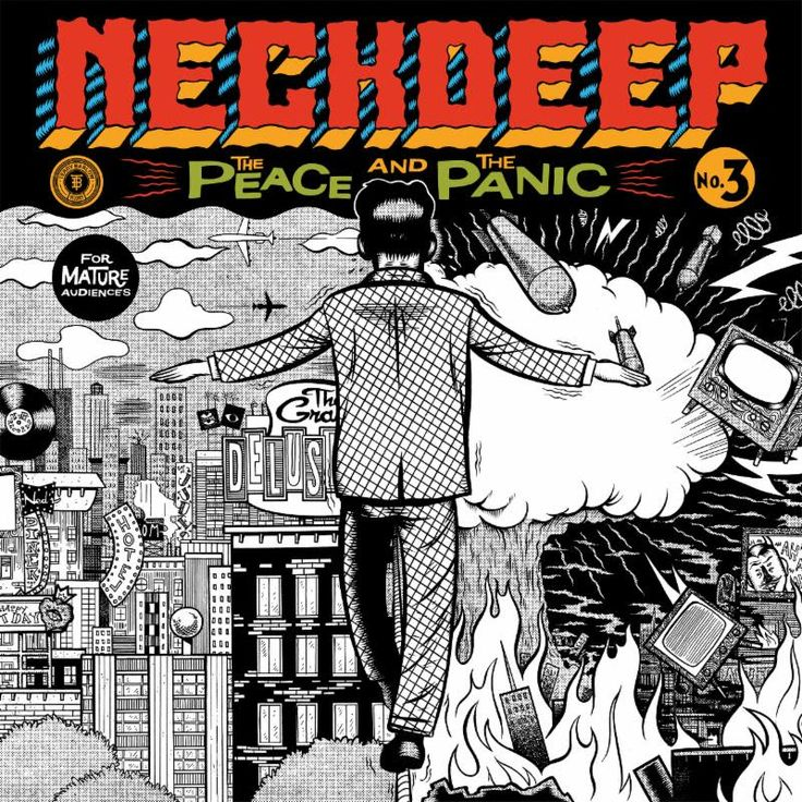 """Neck Deep Announces Highly Anticipated Album """"The Peace and The Panic"""" – Announces Highly Anticipated New Album The Peace And The Panic  Releases Two New Songs & Music Videos  """"Where Do We Go When We Go"""" and """"Happy Judgement Day"""" Album Released August 18th via Hopeless Records  Available For Pre-Order Now Here  See Neck Deep... #hopelessrecords #neckdeep #thepeaceandthepanic"""