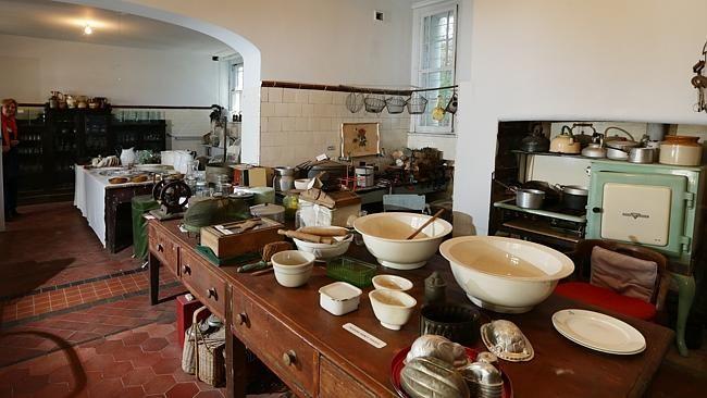 The original kitchen at Camden Park House, built for John and Elizabeth Macarthur