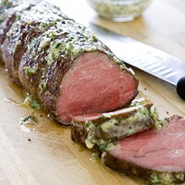 Classic Roast Beef Tenderloin | Dinner Recipes I'd like to try | Pint ...