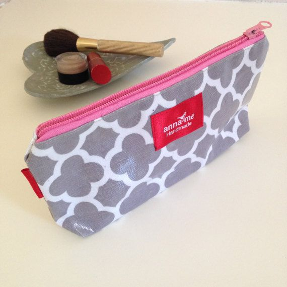 $13.72 - Small Makeup Pouch - Visit the Anna Me Handmade store on Etsy! #etsy #makeup
