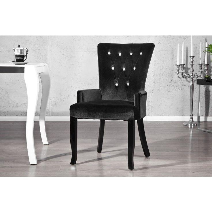 Moderne stoel Boutique zwart - 12884