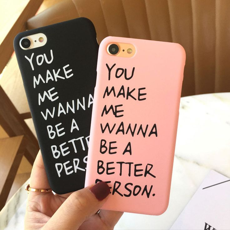 For Coque iphone 7 Case Cartoon Letter Romantic Hard Plastic Funda Phone Cases for iPhone 5 5s se 6 6s 7 Plus Back Covers Capa #Affiliate