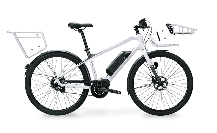 Our first generation smartbikes the Modular E-bikes. They features our Modular Travel System together with the Shimano Steps e-bike system.