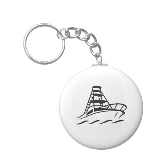 Boat Keychain