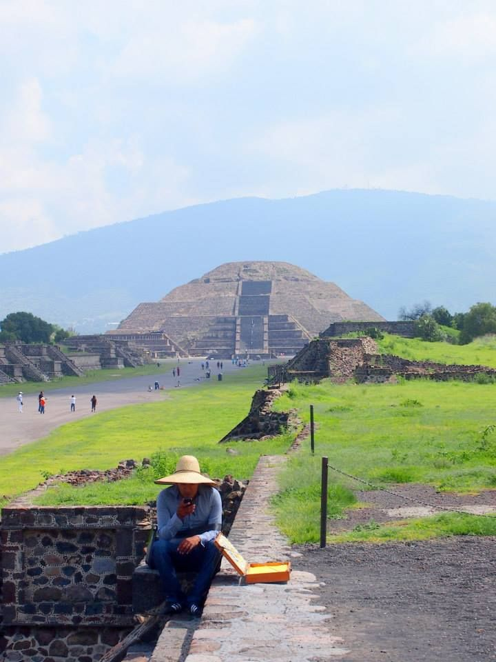 Mexico, the pyramids of Teotihuacan