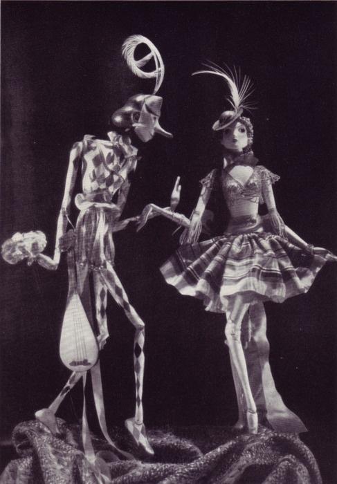 Richard Teschner's puppets