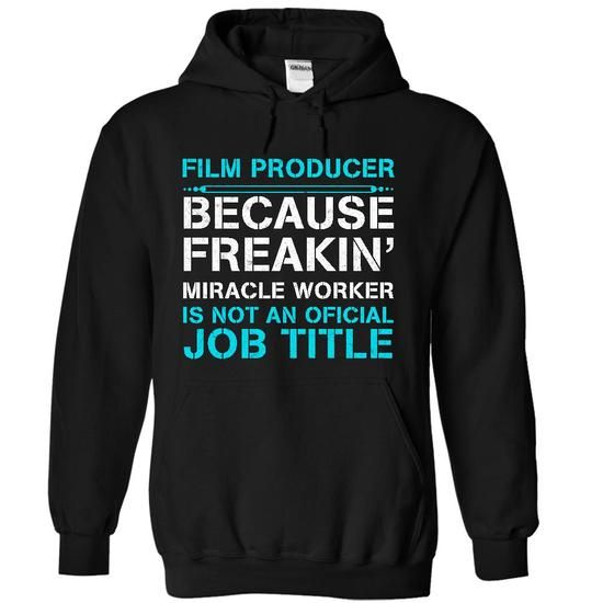 HOT-Miracle Film Producer T-Shirt Hoodie Sweatshirts ooi. Check price ==► http://graphictshirts.xyz/?p=106442