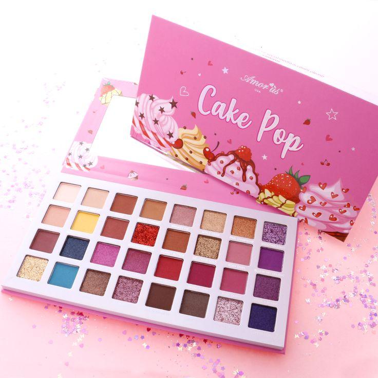 Cake Pop Eyeshadow & Glitter Palette in 2020 Makeup
