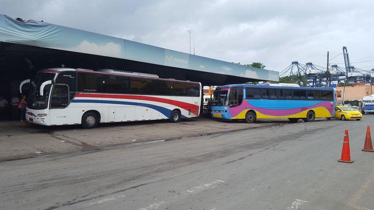 Roban a pasajeros a punto de pistola en bus Colón Panamá - Crítica