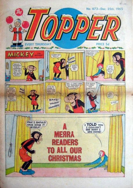 Topper Christmas edition 1965