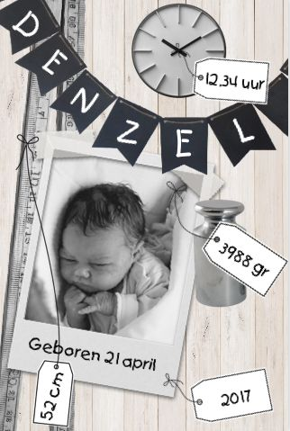 #geboortekaartje #babyinspiratie #hipdesign