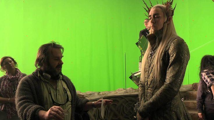 Peter Jackson rodando El Hobbit