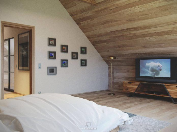 Mountain apartment designed by Seryjny Projektant in sand tones - CAANdesign   Architecture and home design blog