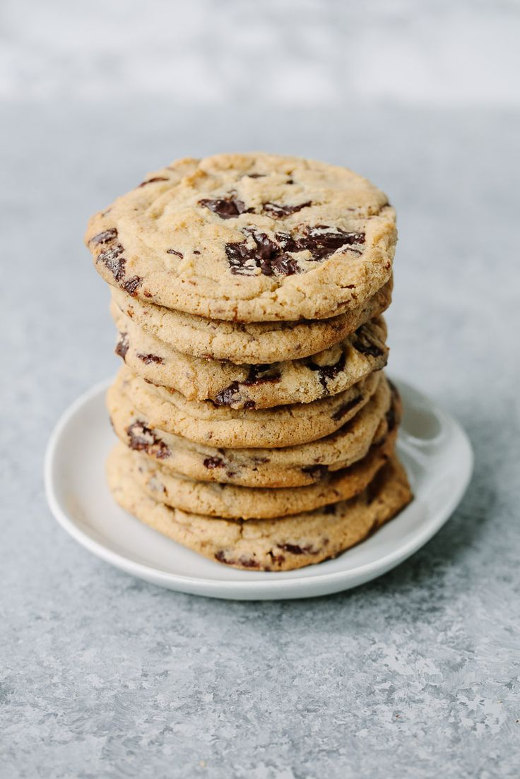 The best, tried-and-true recipe for the ultimate chewy chocolate chip cookie, with crisp edges and chewy, gooey chocolate interiors.