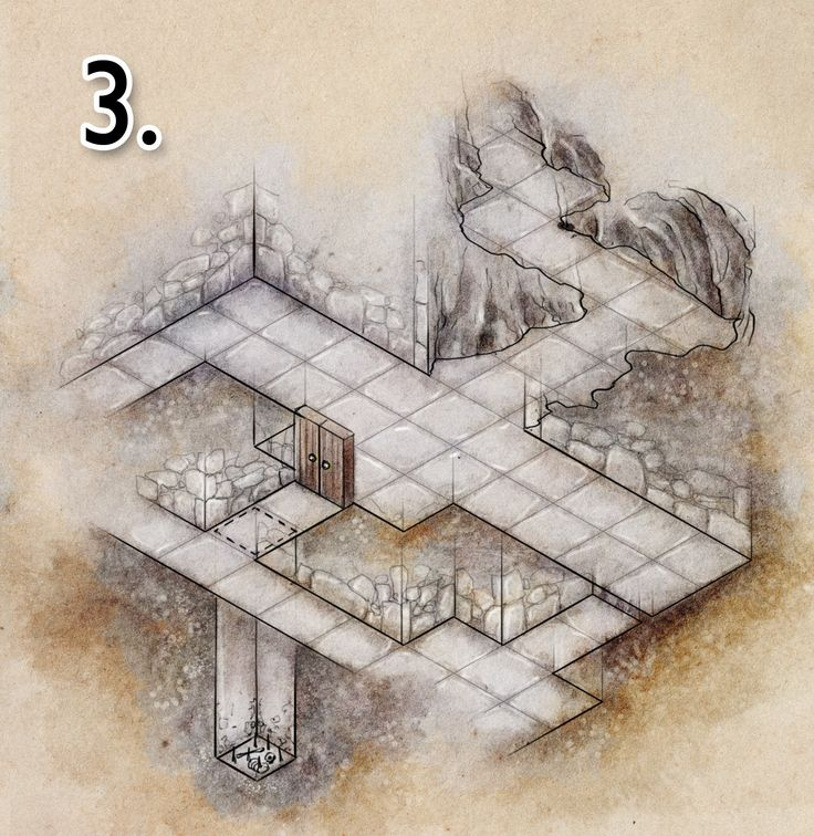 How to Draw a Dungeon Map Part