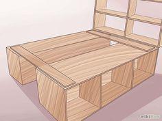 El diseño incluye varios estantes donde es posible guardar cosas, usando de mejor manera el espacio vertical