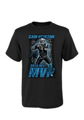 NFL  Carolina Panthers Cam Newton MVP Image Tee Boys 8-20