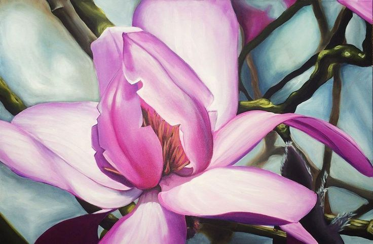 Magnolia - via @Craftsy