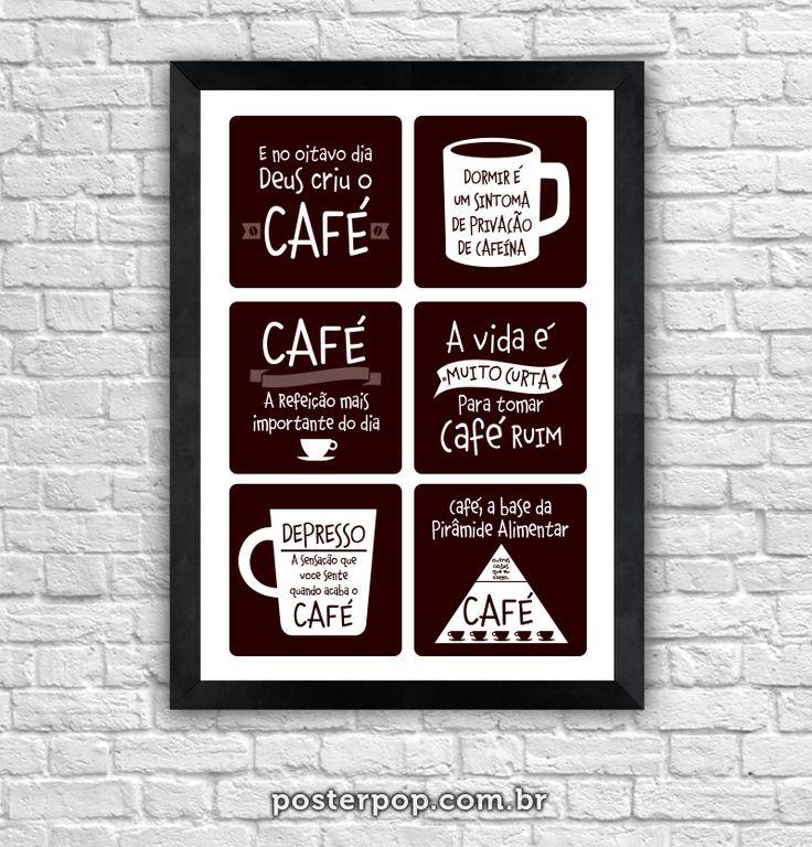 Poster Tiradas com Café 1