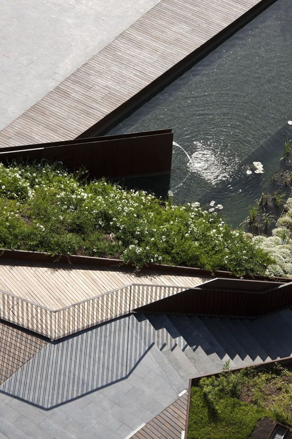 Arquitectura Paisajista: Espacio Público para el Forum de Negocios, Francisco-J-del-Corral, Federico-Wulff, diseño, paisajismo, arquitectura...