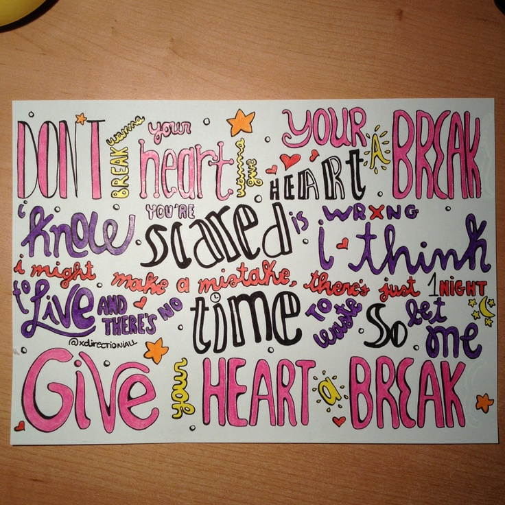 D Line Drawings Quotes : Demi lovato quot give your heart a break lyrics drawing im
