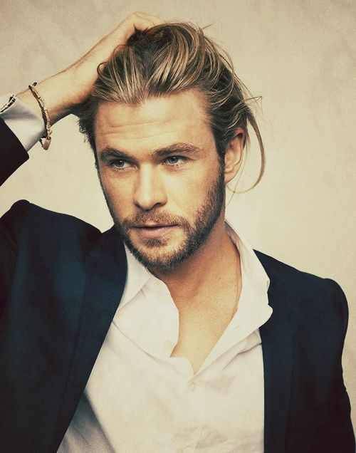 Chris Hemsworth. Well, yeah, this was originally why I wanted to watch Thor…