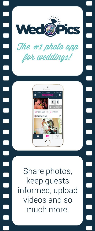 WedPics: The #1 photo app for weddings. Go beyond the hashtag!