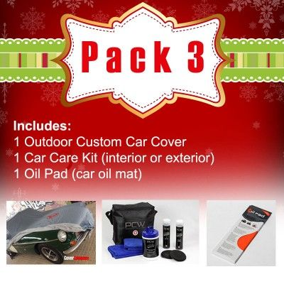 Custom Outdoor Car Cover Set - Custom made Car Covers