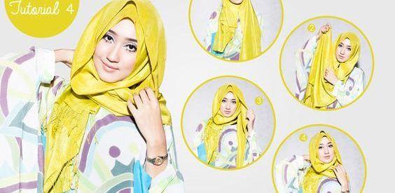 15 Tutorial Hijab Dian Pelangi Pashmina Segi Empat Terbaru 2016