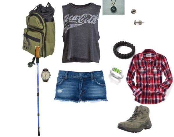 """""""hiking gear"""" by kristal-coon-facemyer on Polyvore"""