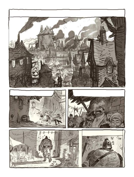 Best Comic Pages Images On   Comic Books Storyboard